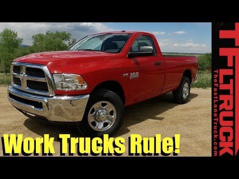 2017 Ram HD 2500 Tradesman Review: Why Work Trucks Rule!