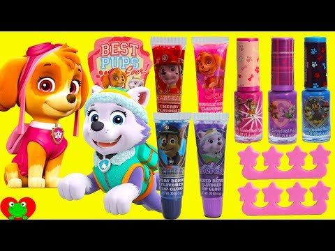 Paw Patrol Cosmetics Set and L.O.L. Surprise! Dolls
