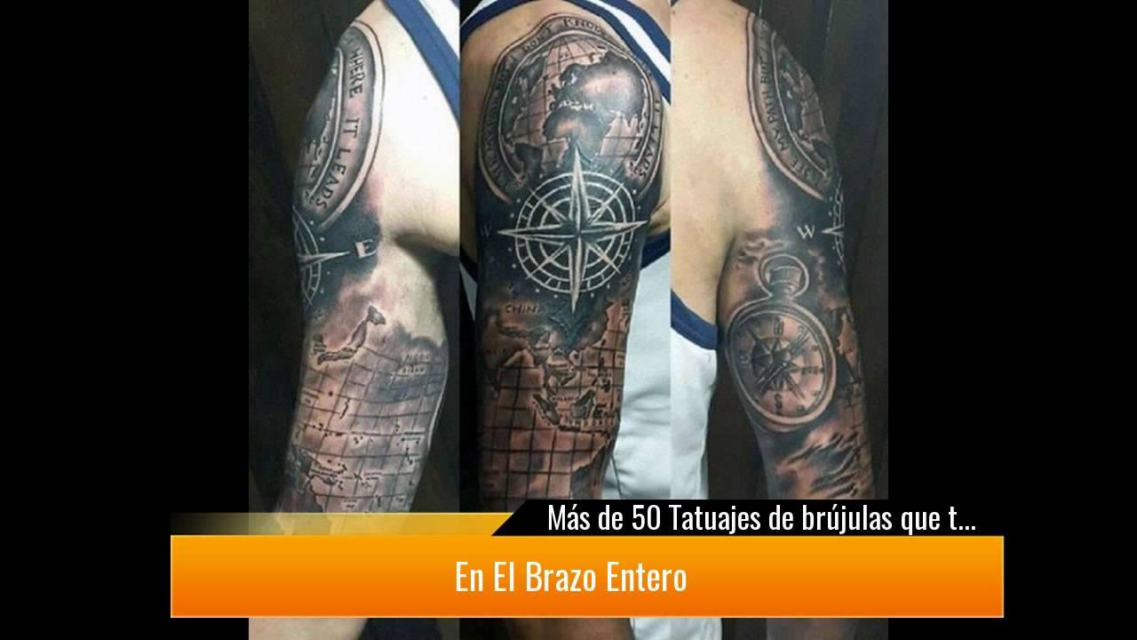 Más De 50 Tatuajes De Brújulas Que Te Van A Encantar Youtube