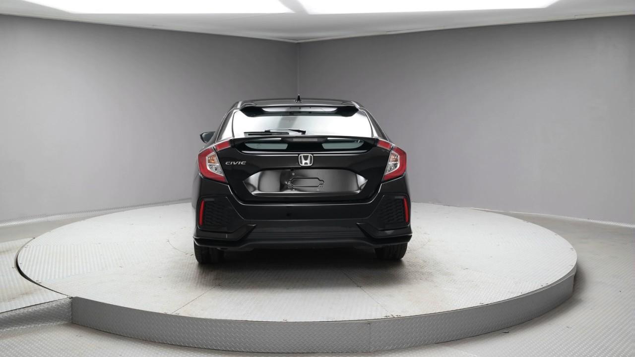 2017 Crystal Black Pearl Honda Civic Hatchback #H171