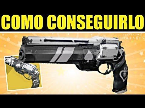 Destiny 2: COMO CONSEGUIR EL EXÓTICO AS DE PICAS | Guia Completa thumbnail