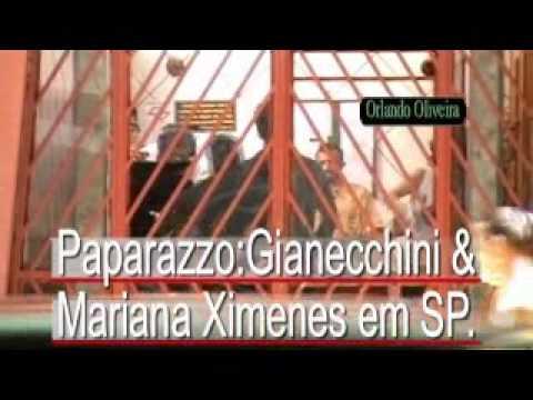 Orlando Oliveira Paparazzo Reynaldo Gianecchini e Mariana Ximenes gravam Passione.wmv