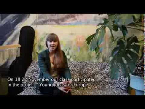 Young ideas for Europe PANEVĖŽYS 2013 - YouTube