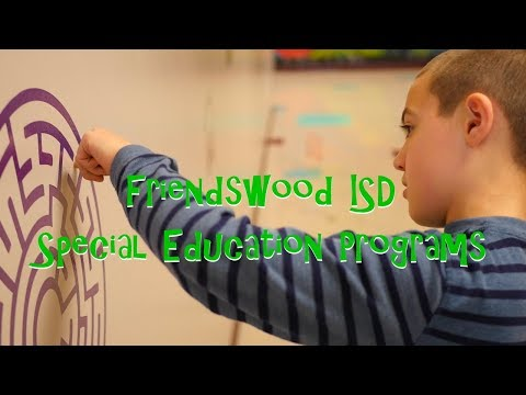 Friendswood ISD Special Education Programs
