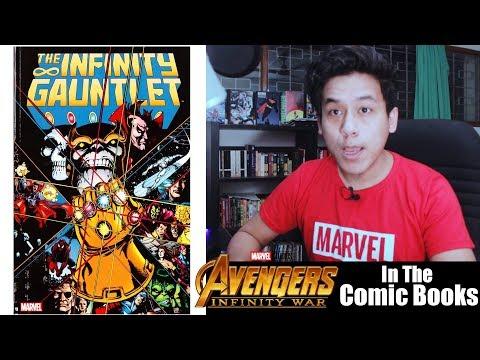 Infinity War: IN THE COMICS!