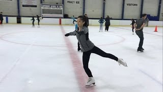 Adult Figure Skating Journey - Forward Spin Struggles
