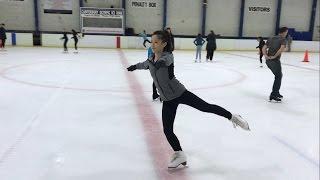 Adult Figure Skating Journey - Forward Spin Struggles