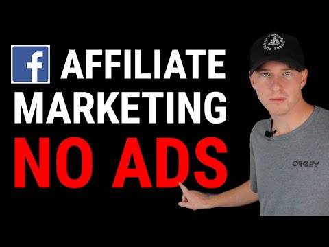 NEW! Affiliate Marketing On Facebook WITHOUT Using Ads! (The Right Way) thumbnail
