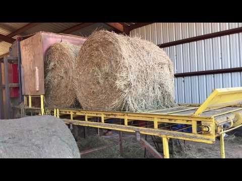 Stationery Hay Re-Baler