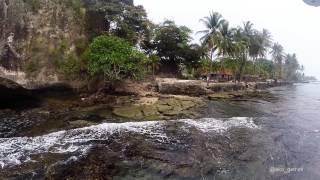 Surga Cinta Tersembunyi Pantai Karang Bolong Anyer DJI PHANTOM 2 w/ Gopro