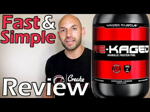 Kaged Muscle: Re-Kaged Protein Supplement Review