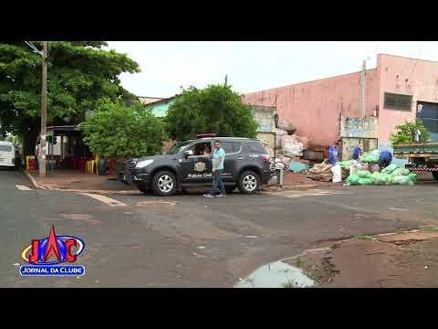 Polícia apreende materiais da Ciretran em depósitos de recicláveis - Jornal da Clube (22/12/2017)