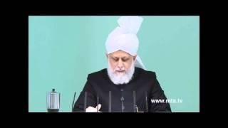 Le Saint Coran : faveurs et bénédictions divines - sermon du 16 décembre 2011