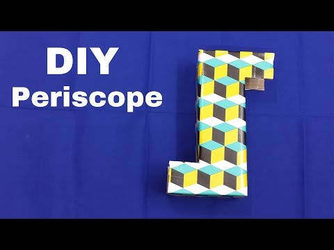 How to Make a Simple Periscope at Home (Step-By-Step Tutorial)
