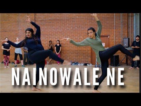 """NAINOWALE NE"" - Chaya Kumar And Shivani Bhagwan Choreography |Padmavaat| Classical Indian Dance"