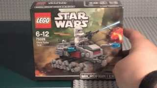 Lego Star Wars Microfighter: Clone Turbo Tank Build & Review 75028