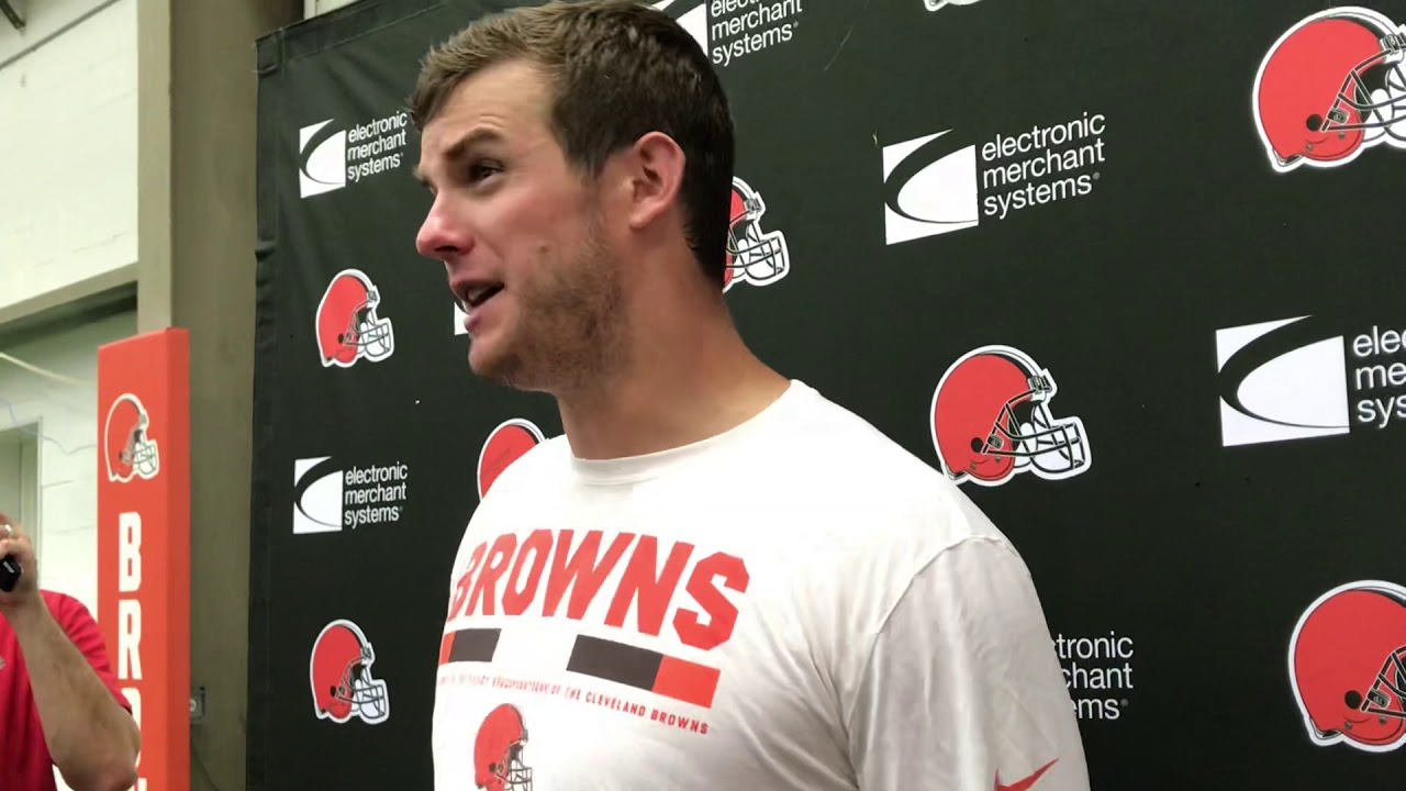 Browns Quarterback Garrett Gilbert On What He Envisioned For Baker Mayfield Youtube
