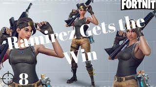 Ramirez gets the W (Fortnite Battle Royale - Game Highlights)