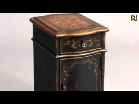Pulaski Chairside Table Versailles Black 974036