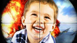 1 VS 1 HEADSHOT TROLLING AGAINST THE NICEST KID EVER! (Black Ops 2 Trolling)