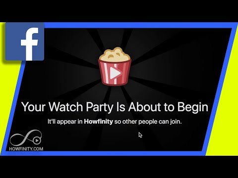 How To Host A Watch Party On Facebook
