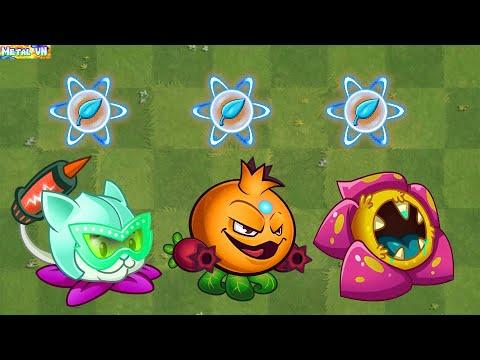 Download Plants vs Zombies 2 Max Level New Plants Power Up!  Vs 999 Zombies | Part 112 - Pvz 2 MetalVN