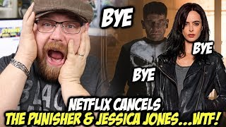 Netflix CANCELS The Punisher and Jessica Jones....WTF!!!