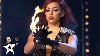 Quick Change Act Is On Fire on Spain's Got Talent 2019 | Magicians Got Talent