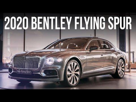 Новый Bentley Flying Spur: дешевле Ауруса и круче Майбаха!