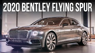 Bentley Flying Spur 2020 // АвтоВести