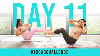 Day 11: 100 Russian Twists! | #100AbChallenge w/ TiffyQuake