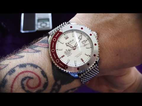 Quick Review of PolAm Hamtramck automatic watch