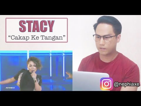 Cakap Ke Tangan - Stacy | #SFMM33 | SINGER REACTS