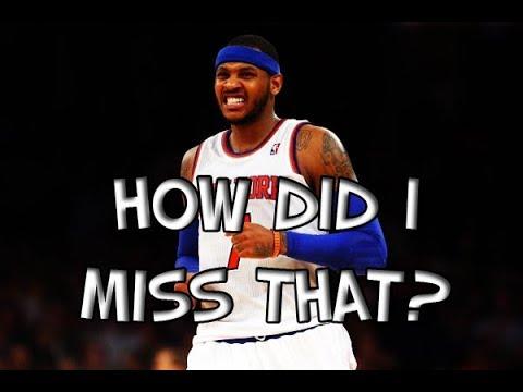 NBA Easiest Shots Missed