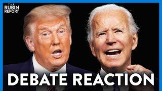 Trump & Biden Debate 1: Highlights, Lowlights & Reaction   DIRECT MESSAGE   RUBIN REPORT