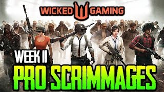 Wicked Gaming Pro Scrimmages Week 11 - ft. Lights Out, Misfits, Wildcard, Confound PK | PUBG MOBILE