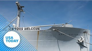 Aging WWII ship fights new battle: rust | USA TODAY
