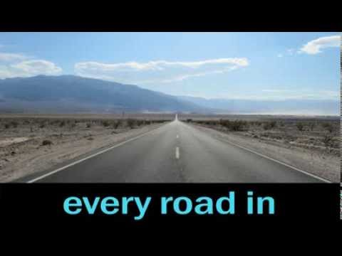 I've been everywhere Johnny Cash lyrics & pictures of each place