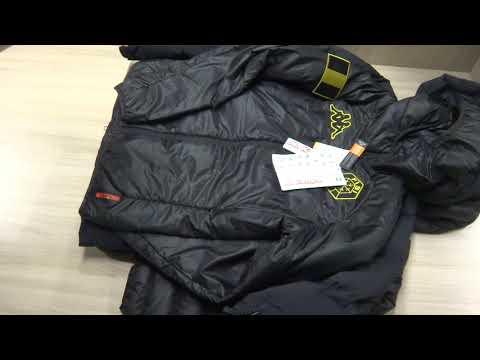 Пуховики и куртки фирмы Kappa сток оптом.
