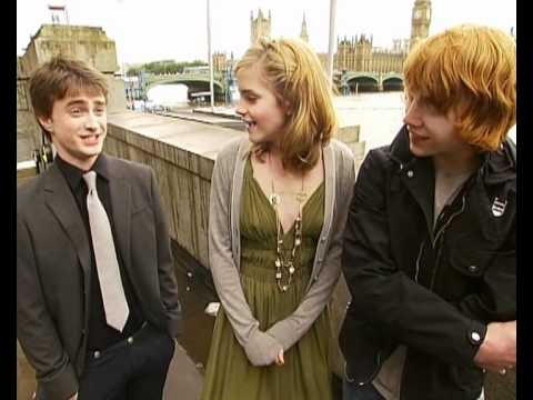 Thumbnail: Daniel Radcliffe, Emma Watson and Rupert Grint interview on doing press