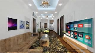 Nội thất căn hộ A-05 tòa NO1-T1 Chung cư cao cấp khu Đoàn ngoại giao tại Hà Nội