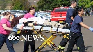 Hero Among the Injured in Oregon College Shooting