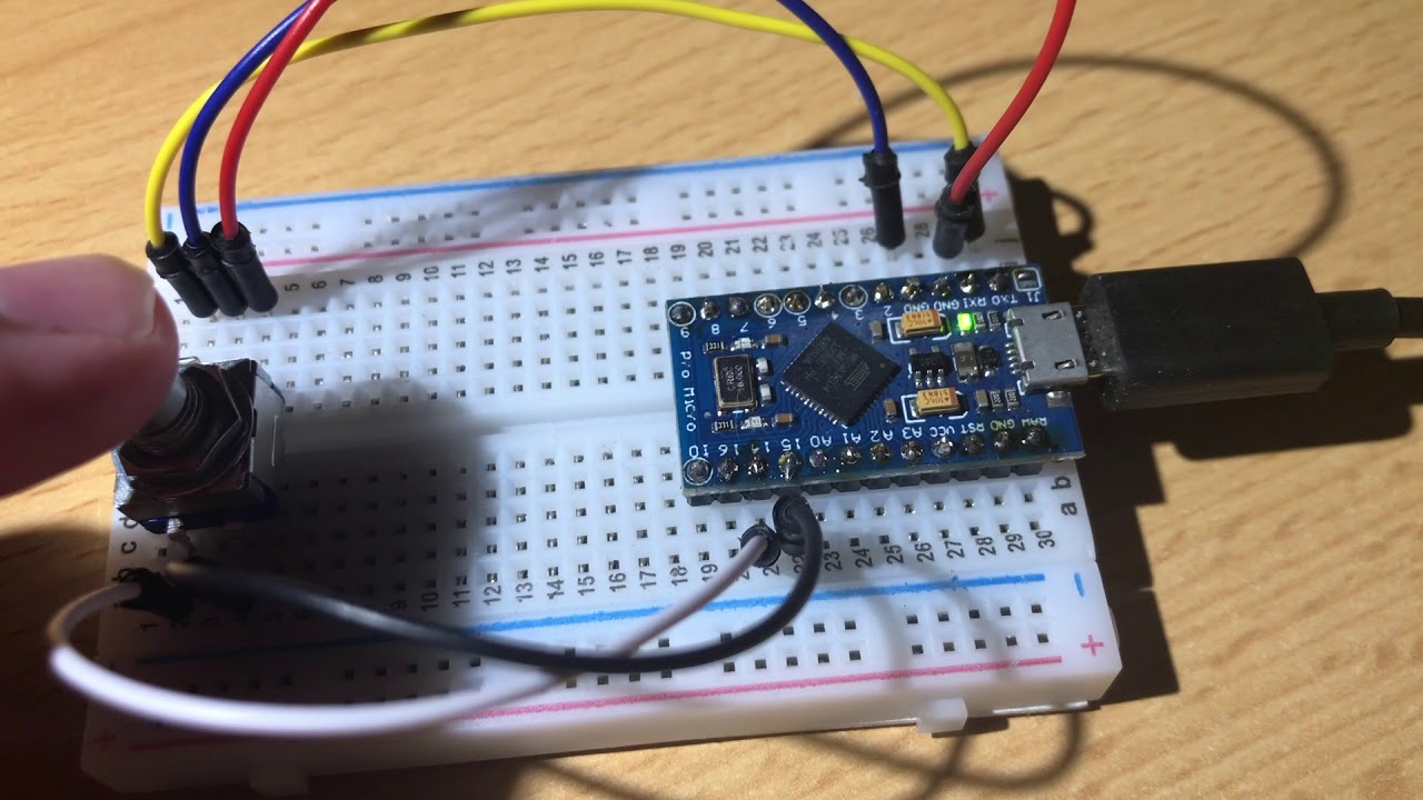 First experiments with an Arduino and rotary encoder – A320 Home