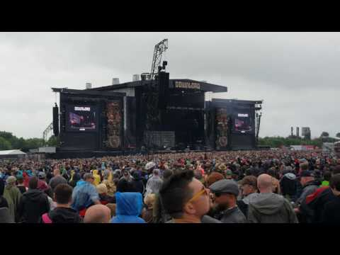 Disturbed, Sound of Silence, Download Festival 2016