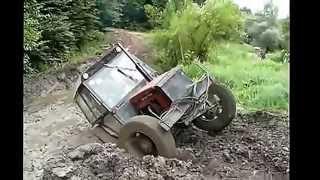 Приколы с тракторами  Смешное Видео 2014 Лучшие Приколы #48