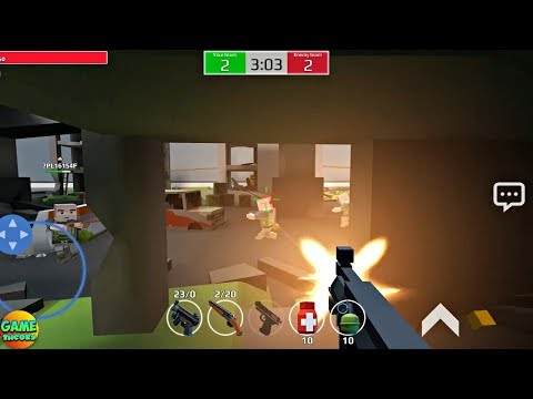 Pixel Grand Battle 3D Online Game Update #1 Android GamePlay FHD