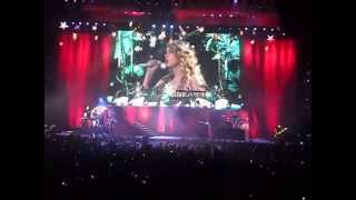 Love Story - Taylor Swift, Speak Now Tour Manchester 29/3/11