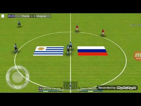 Футбол лига мире ЧМ 2018 Групповой этап Россия-Уругвай(2:0)