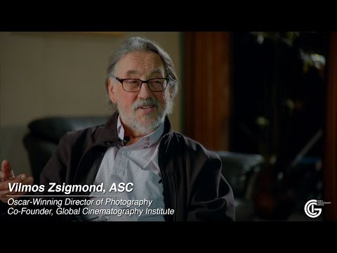 """Advice for Young Cinematographers"" with Vilmos Zsigmond, ASC"