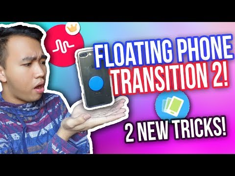 MUSICAL.LY FLOATING PHONE TRANSITION TUTORIAL 2! | NO SPOON! *NEW*